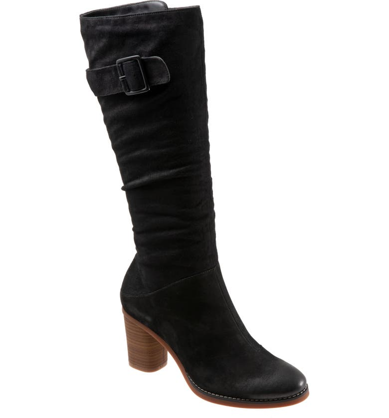 SOFTWALK<SUP>®</SUP> Know Tall Boot, Main, color, BLACK NUBUCK LEATHER
