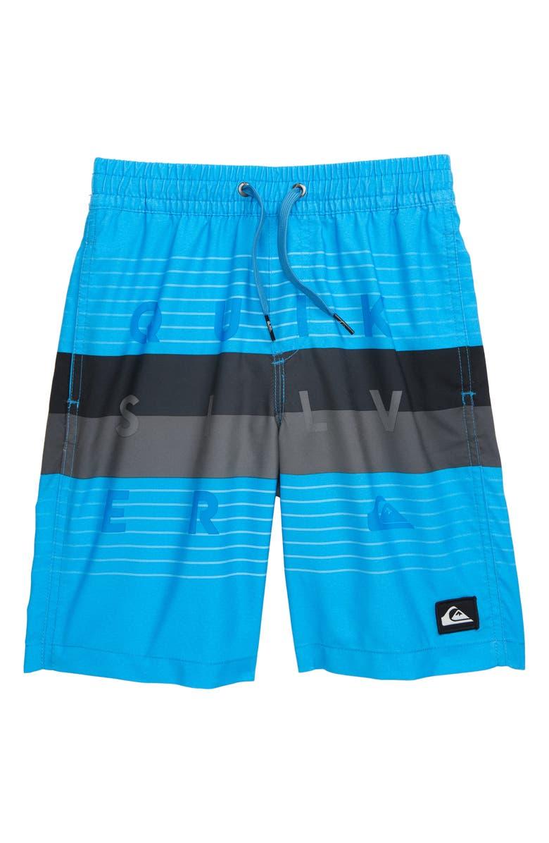 QUIKSILVER Word Block Volley Shorts, Main, color, 422