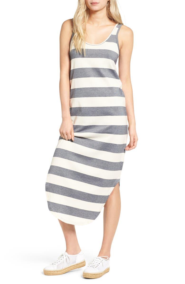 THE FIFTH LABEL Chelsea Stripe Midi Dress, Main, color, 410