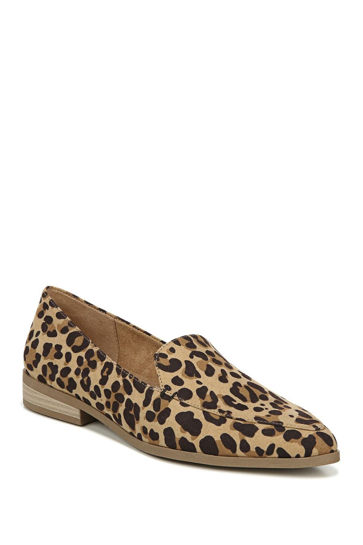 Image of Dr. Scholl's Astaire Leopard Print Slip-On Loafer