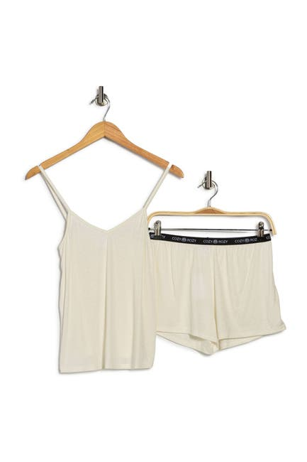 Image of COZY ROZY Be You Camisole & Shorts 2-Piece Pajama Set