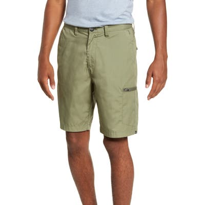Billabong Surftrek Hybrid Performance Cargo Shorts, Green