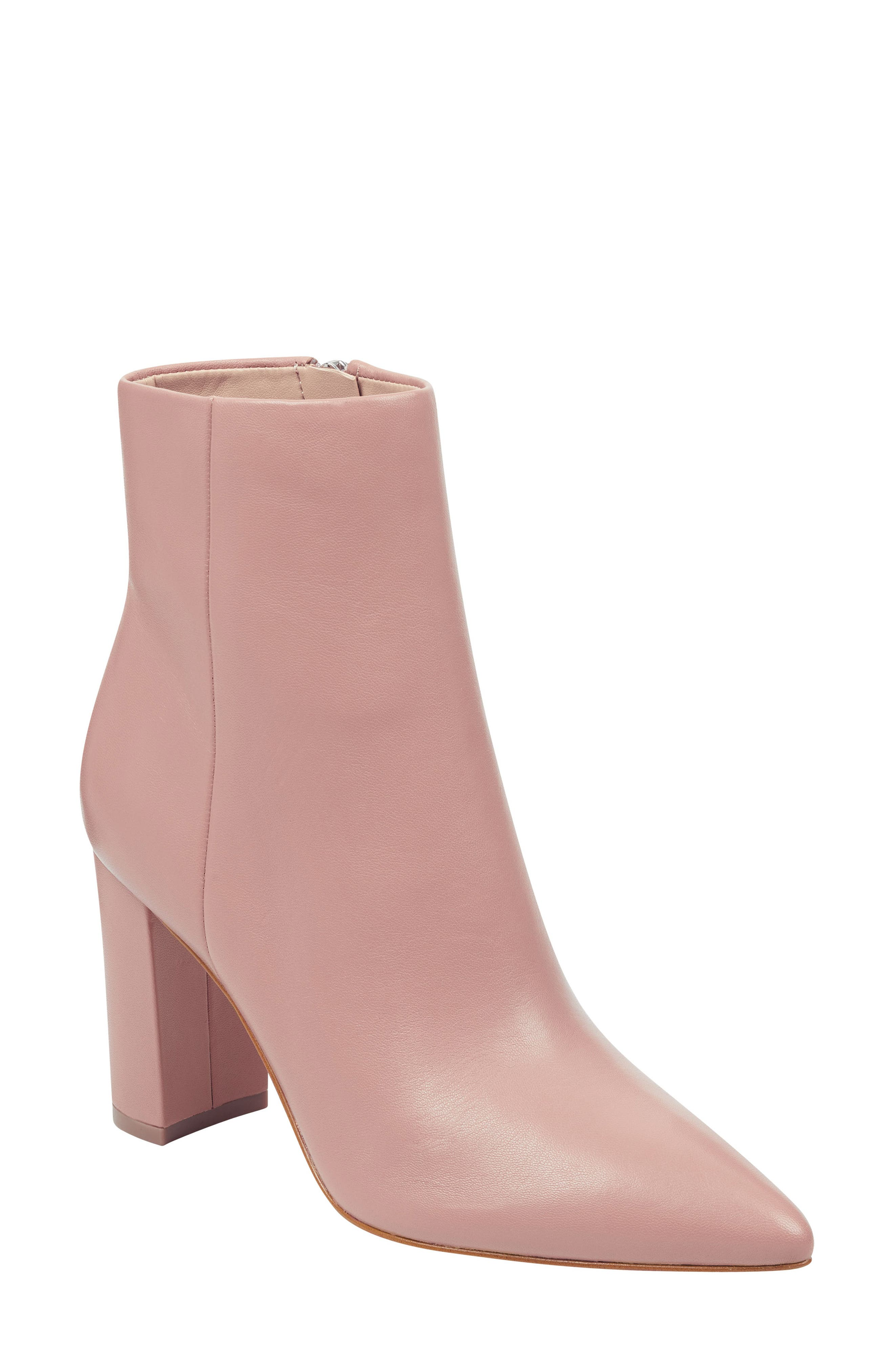 Marc Fisher Ltd. Ulani Pointy Toe Bootie- Pink