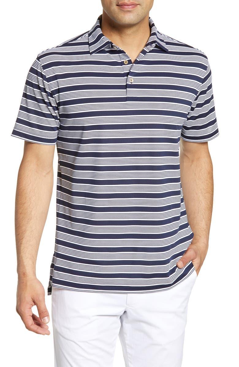 Peter Millar Sean Tatton Stripe Stretch Polo