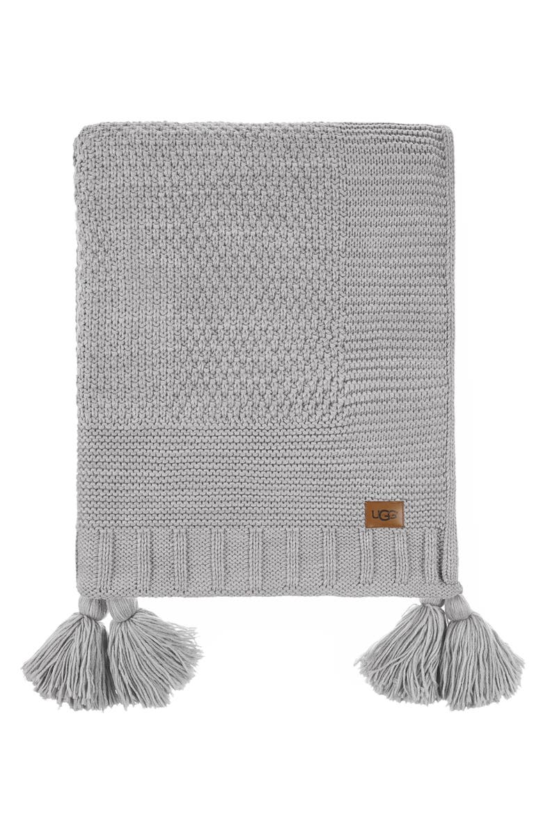 UGG<SUP>®</SUP> Preston Throw Blanket, Main, color, 020