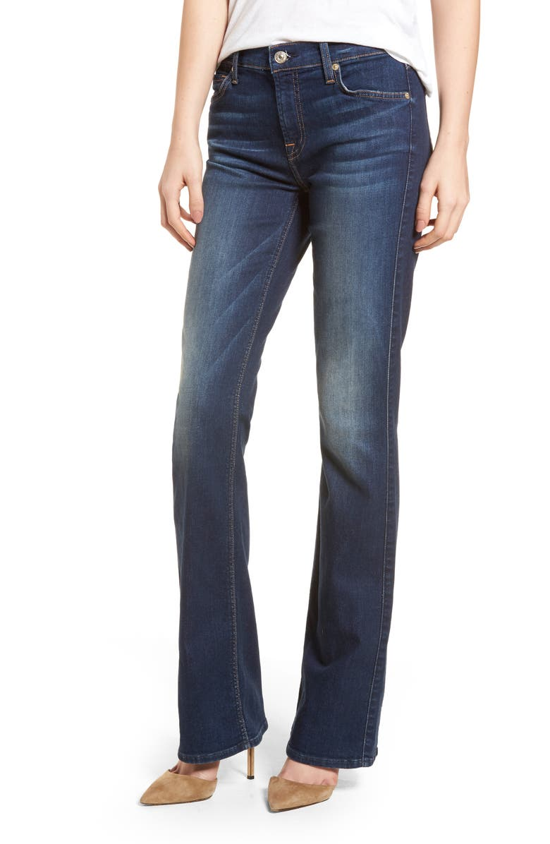 7 FOR ALL MANKIND<SUP>®</SUP> b(air) Iconic Bootcut Jeans, Main, color, MORENO