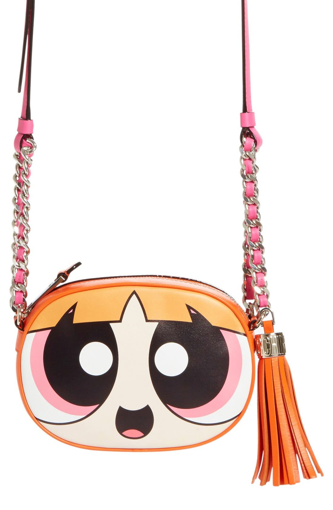 'The Powerpuff Girls<sup>®</sup> - Blossom' Canteen Crossbody Bag, Main, color, 650