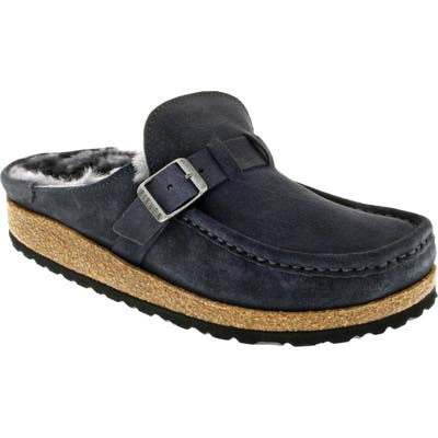Birkenstock Buckley Genuine Shearling Mule, Grey