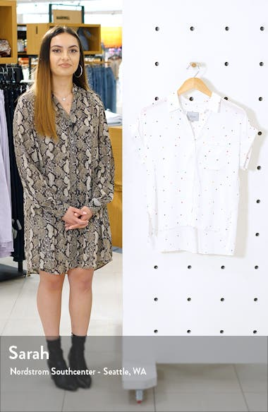 Whitney Print Shirt, sales video thumbnail