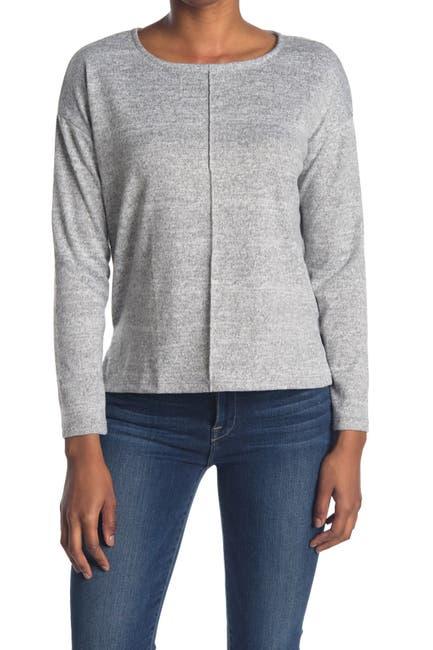 Image of Cotton Emporium Seam Front Cozy Crew Neck Sweater