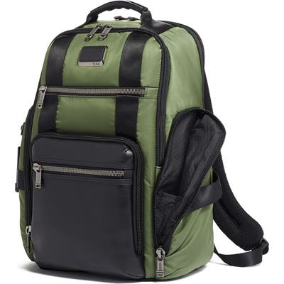 Tumi Alpha Bravo Sheppard Deluxe Backpack - Green