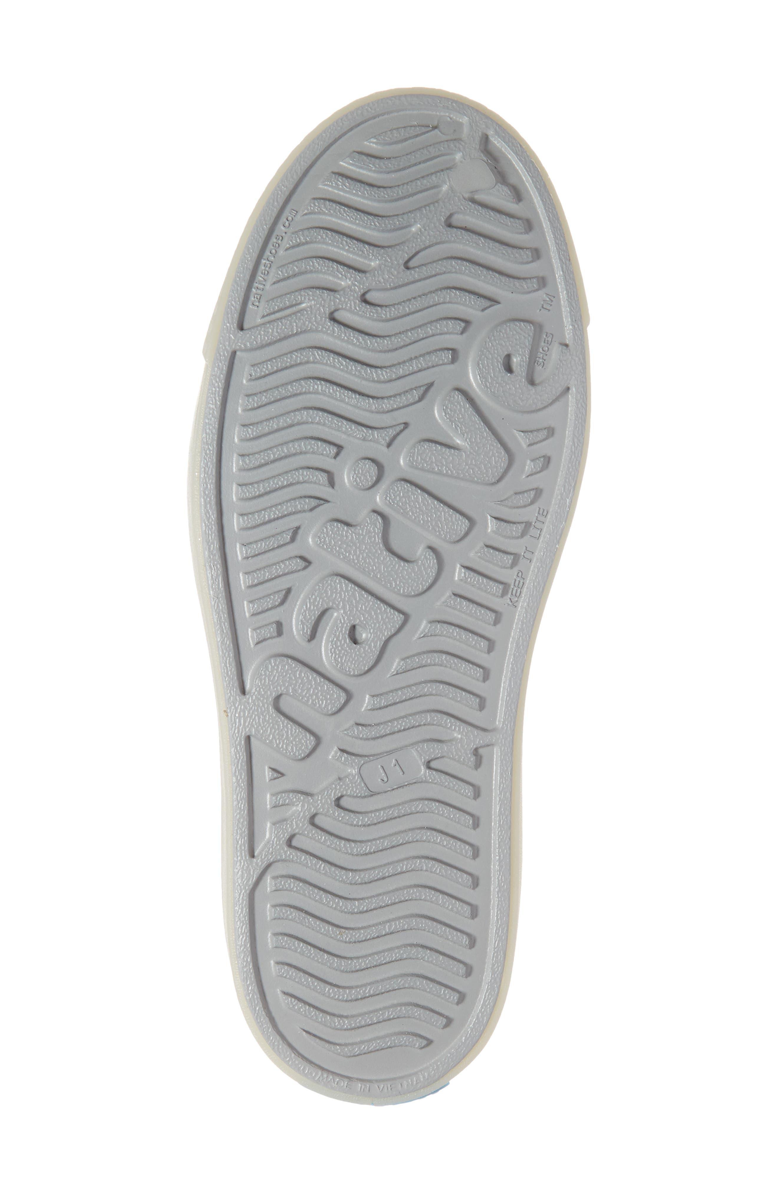 ,                             Jefferson Glow in the Dark Vegan Sneaker,                             Alternate thumbnail 6, color,                             PIGEON GREY/ BANANAS GLOW