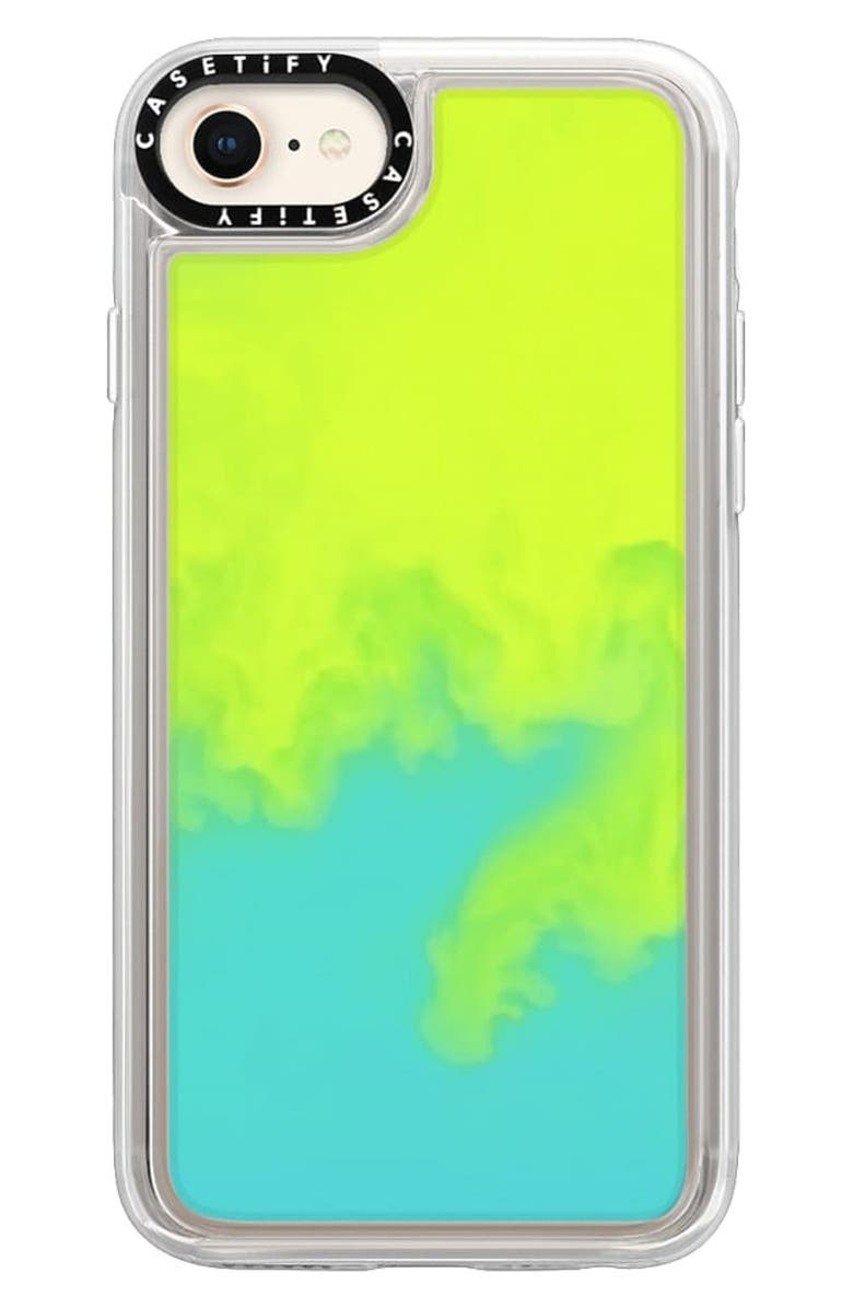 CASETIFY Neon Sand iPhone7/8 and 7/8 Plus Case, Main, color, EXXXTRA