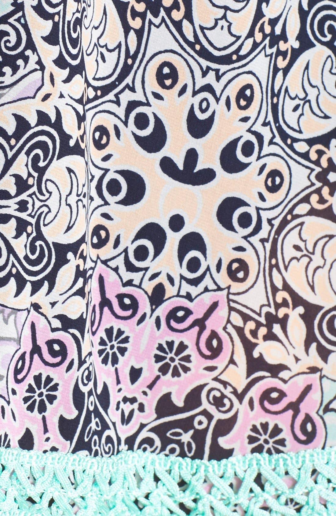 ,                             'Smock This Way' Print Kimono,                             Alternate thumbnail 2, color,                             401
