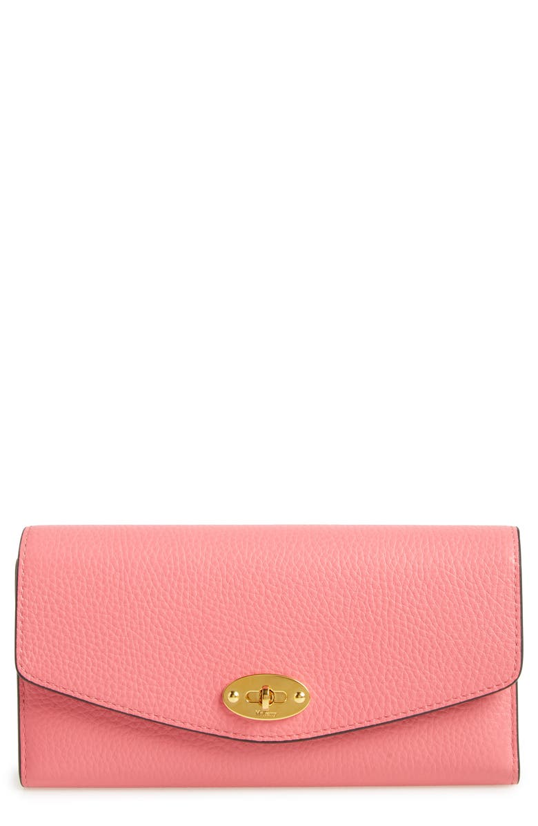 MULBERRY Darley Classic Small Leather Wallet, Main, color, 650