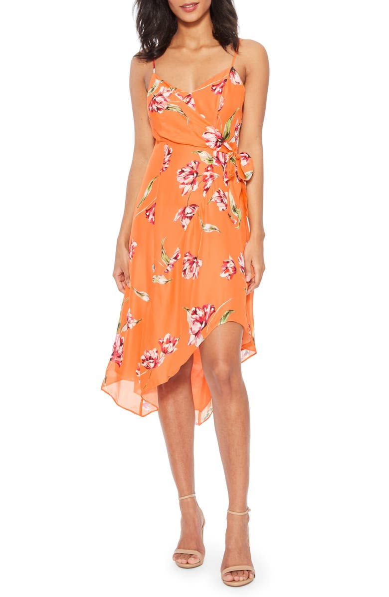 PARKER Monroe Floral Print Sleeveless Dress, Main, color, 814