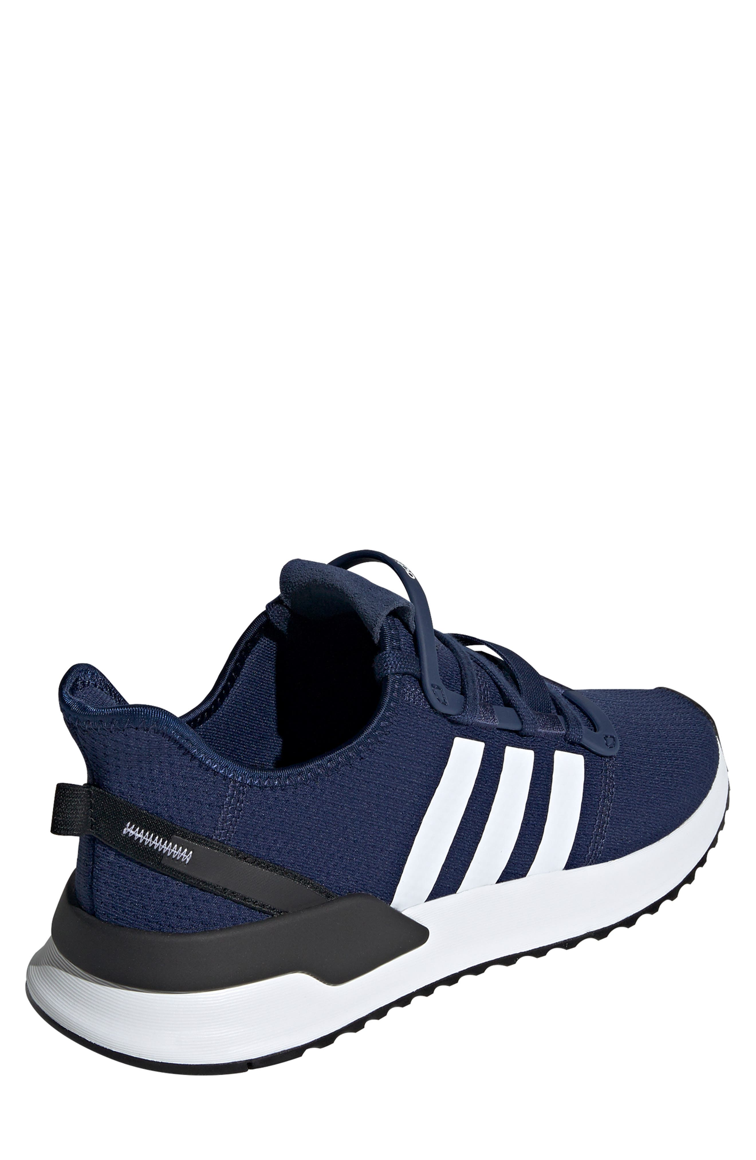 ,                             U-Path Run Sneaker,                             Alternate thumbnail 2, color,                             DARK BLUE/ WHITE