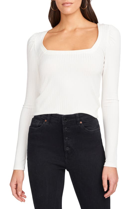 1.STATE Tops SQUARE NECK TOP