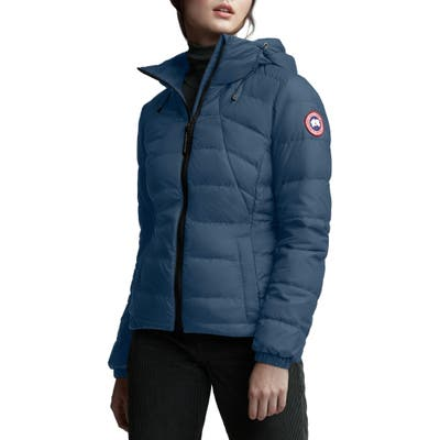 Canada Goose Abbott Packable Hooded 750 Fill Power Down Jacket, Blue