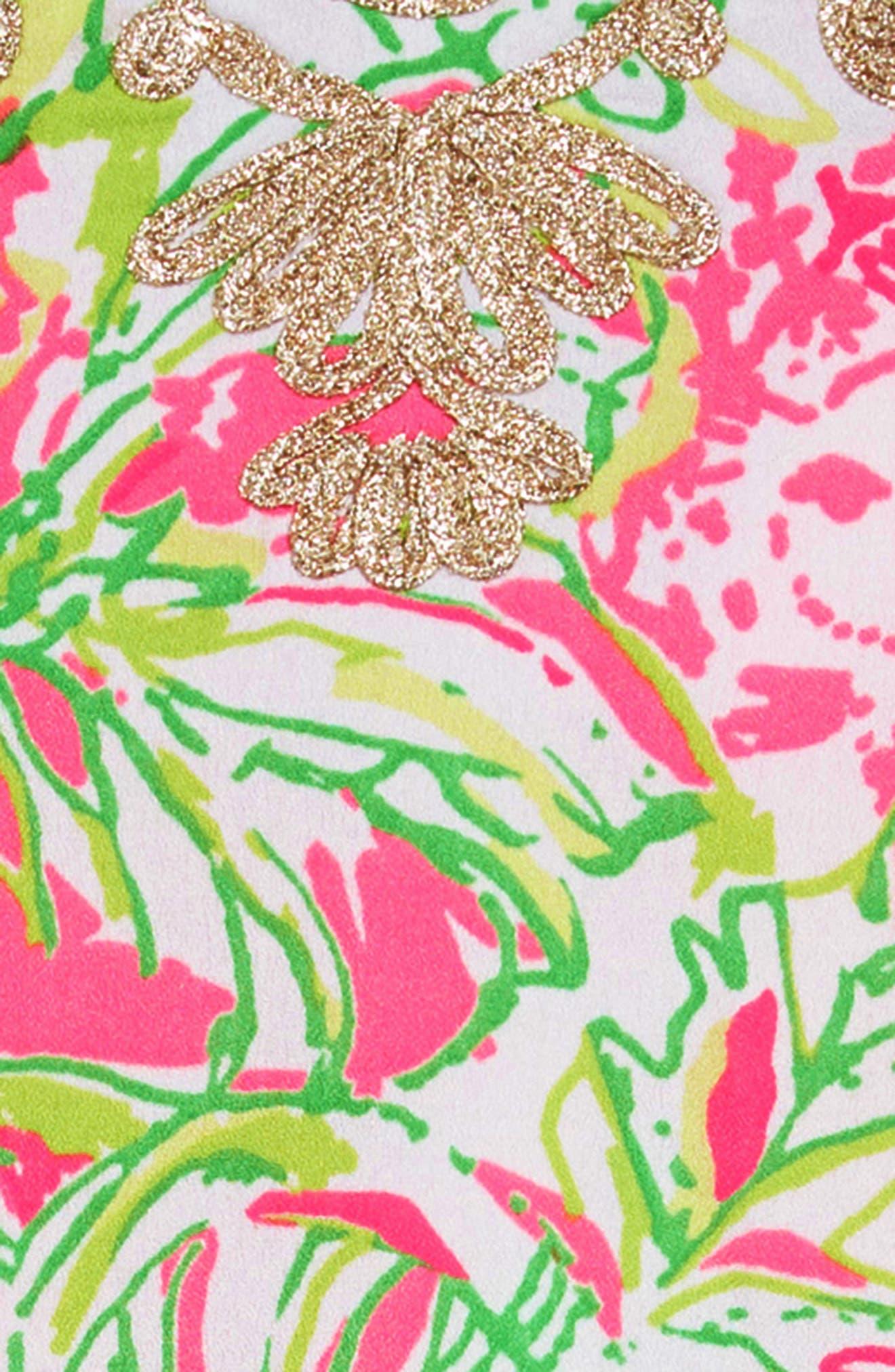 ,                             Mini Carlotta Maxi Dress,                             Alternate thumbnail 3, color,                             RESORT WHITE KOALA ME MAYBE