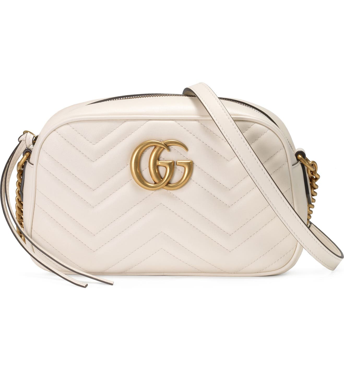 dc54c257b9bc Gucci Small GG Marmont 2.0 Matelassé Leather Camera Bag | Nordstrom