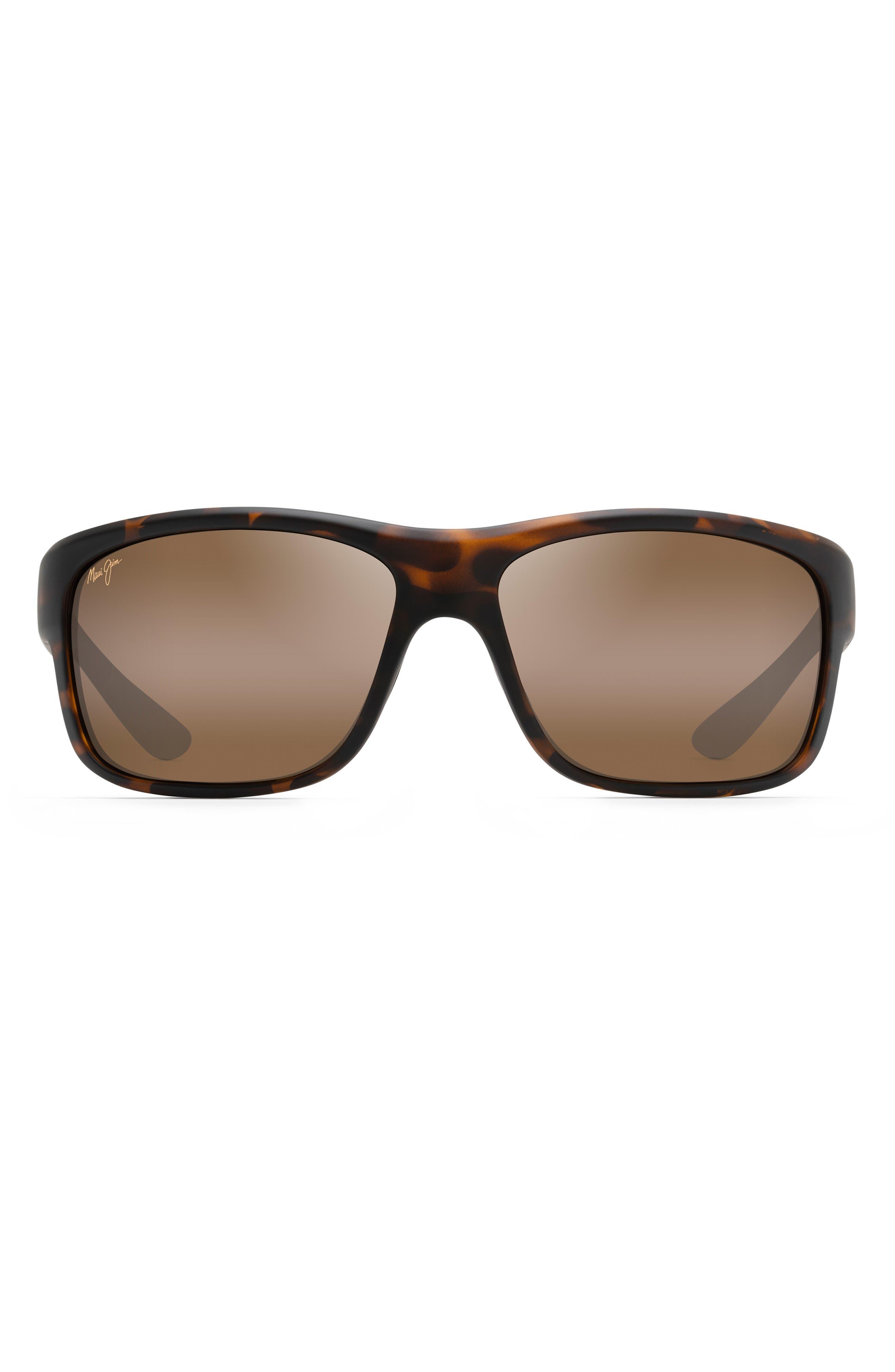 Southern Cross Polarizedplus2 63mm Wraparound Sunglasses