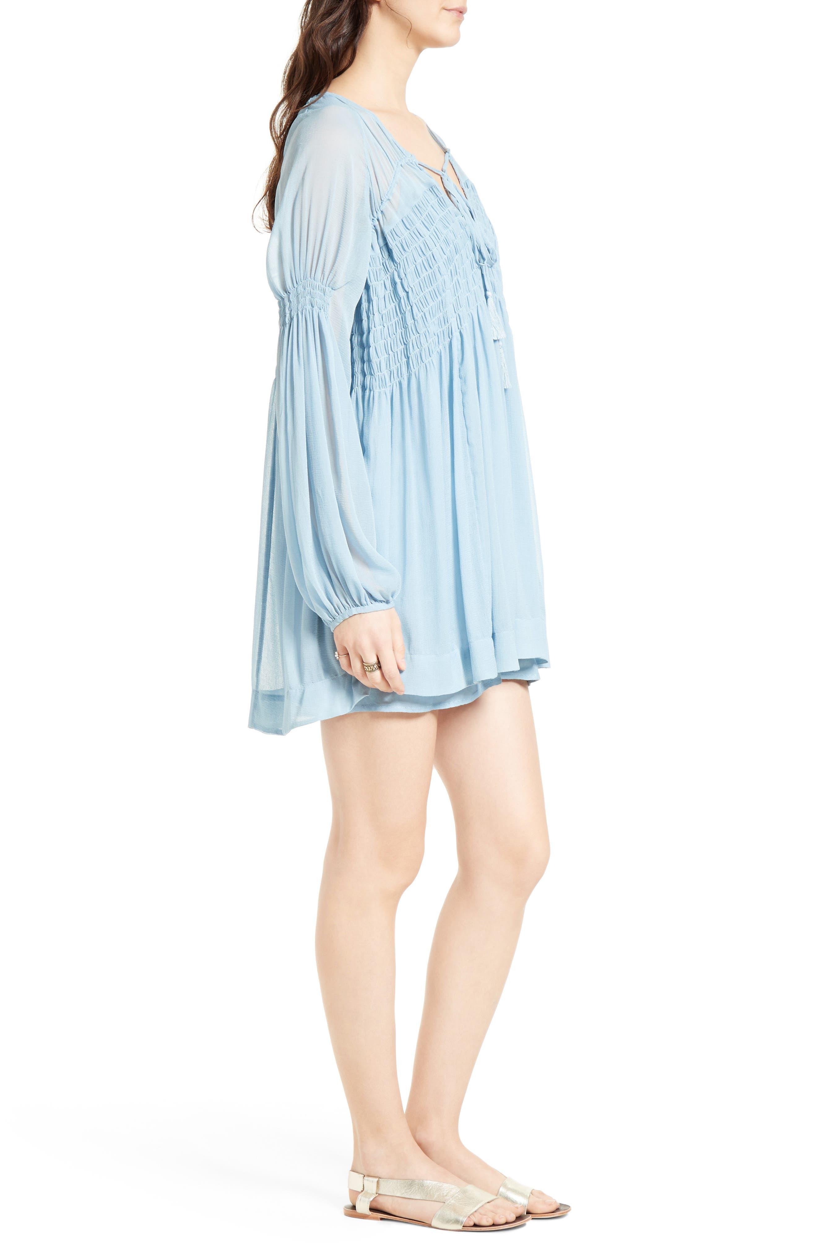 ,                             Lini Babydoll Dress,                             Alternate thumbnail 9, color,                             400
