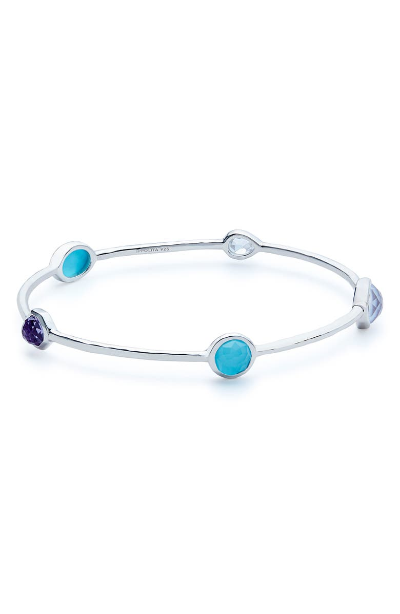 IPPOLITA Wonderland Station Bangle, Main, color, VIOLET