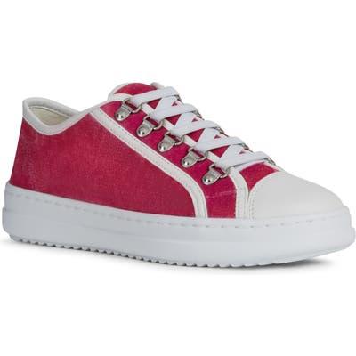 Geox Pontoise Sneaker, Pink