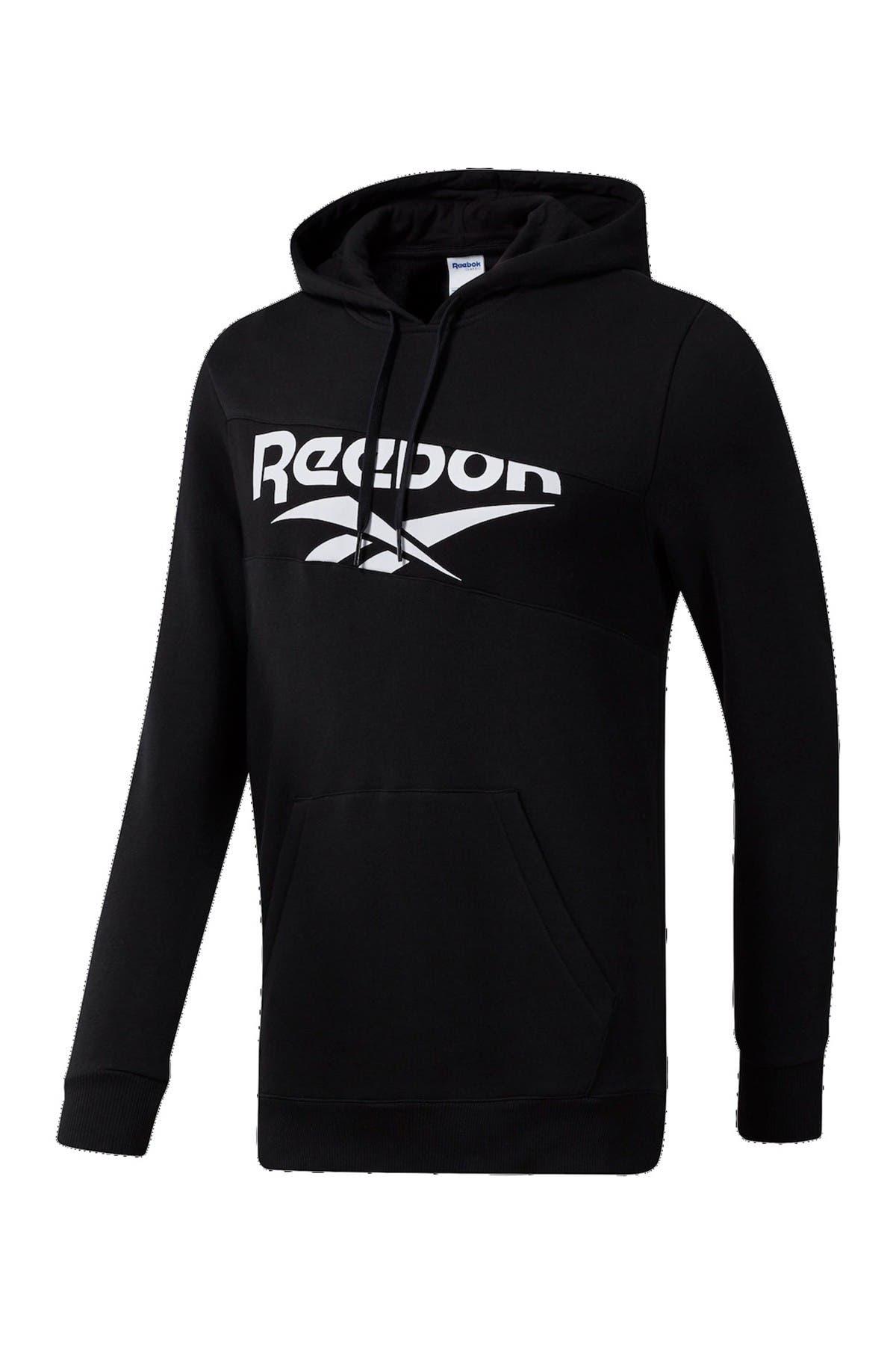 Image of Reebok Vector Logo Pullover Hoodie