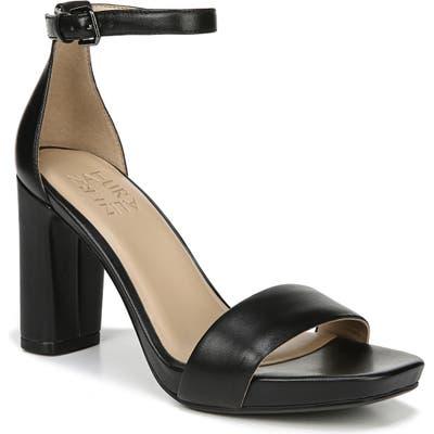 Naturalizer Joy Ankle Strap Sandal, Black