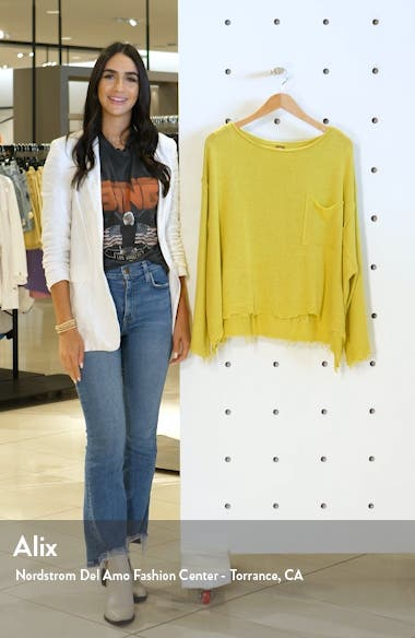 Prism Distressed Hem Sweater, sales video thumbnail