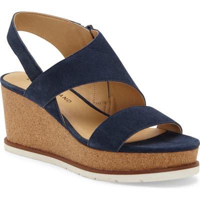 Lucky Brand Bylanna Wedge Sandal- Blue