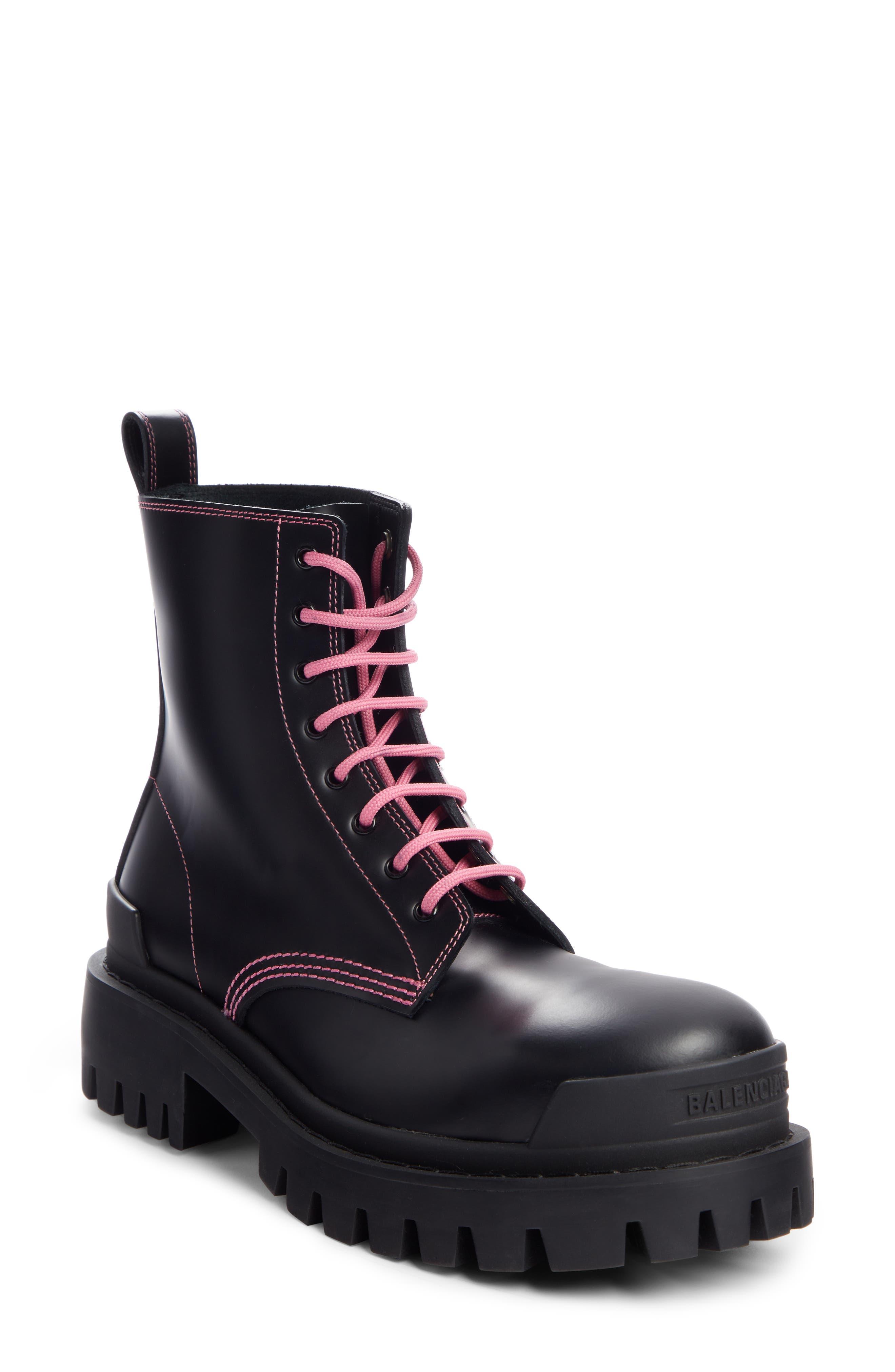 Balenciaga Strike Combat Boot (Women