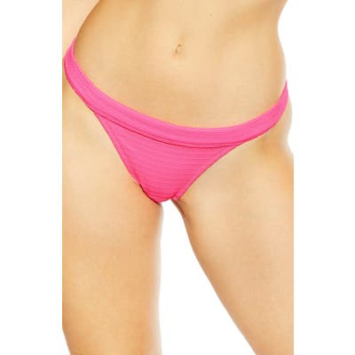 Topshop Tanga Bikini Bottoms, US (fits like 2-4) - Pink