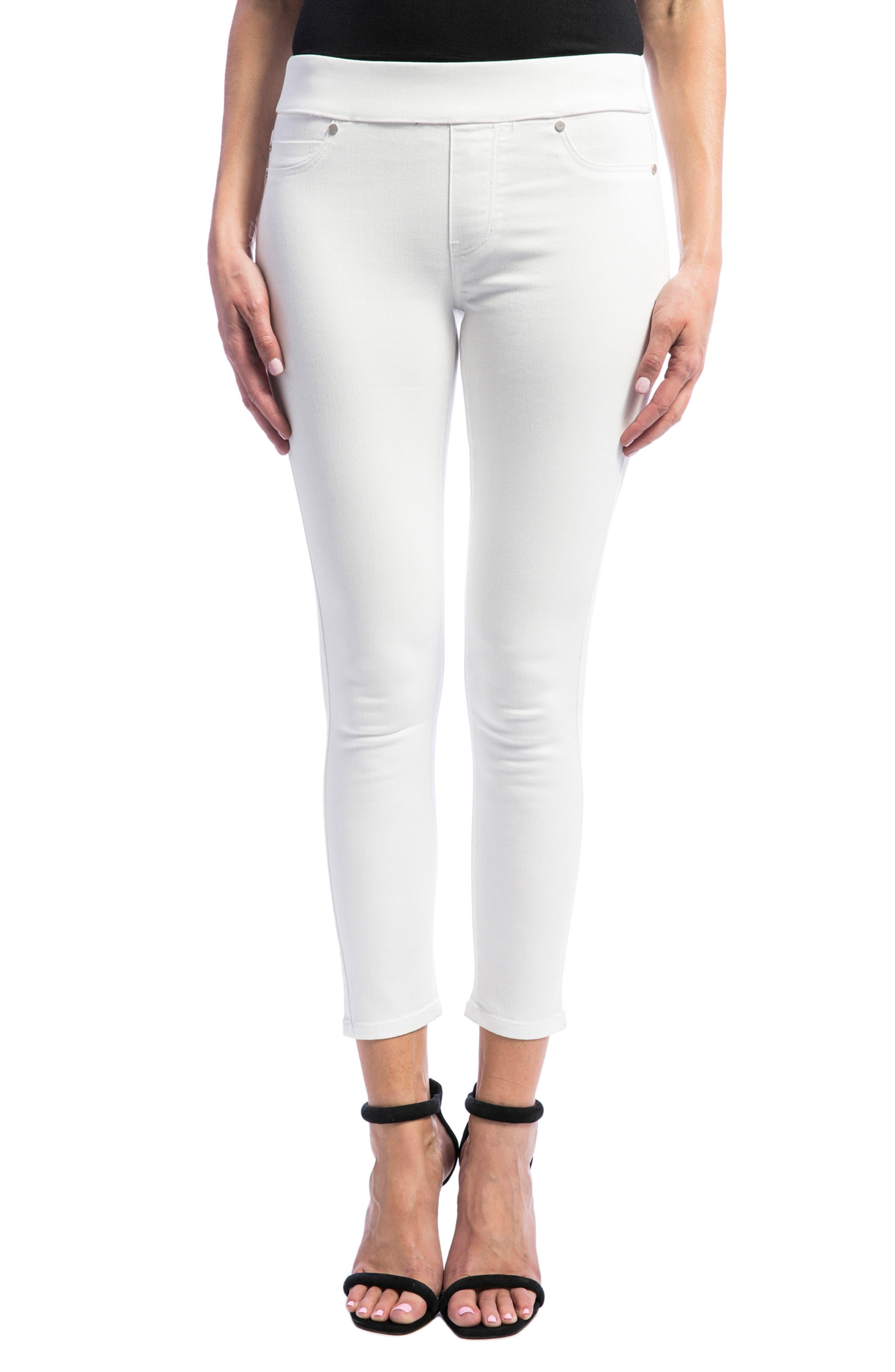 Sienna High Waist Pull-On Skinny Jeans