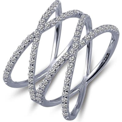 Lafonn Double Crisscross Ring