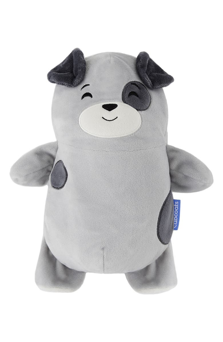 CUBCOATS Pimm 2-in-1 Stuffed Animal Hoodie, Main, color, GREY MARL MIX