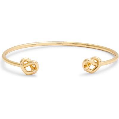 Kate Spade New York Double Loves Me Knot Cuff Bracelet
