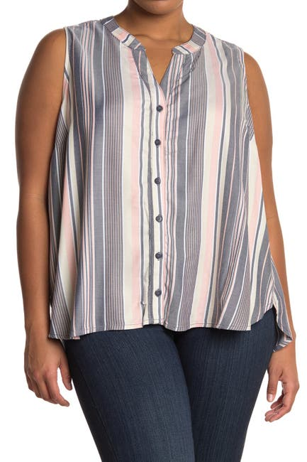 Image of Sanctuary Craft Button Up Shell Tank