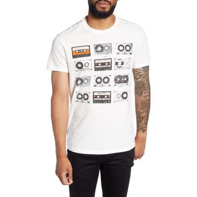 John Varvatos Star Usa Tapes Graphic T-Shirt, White
