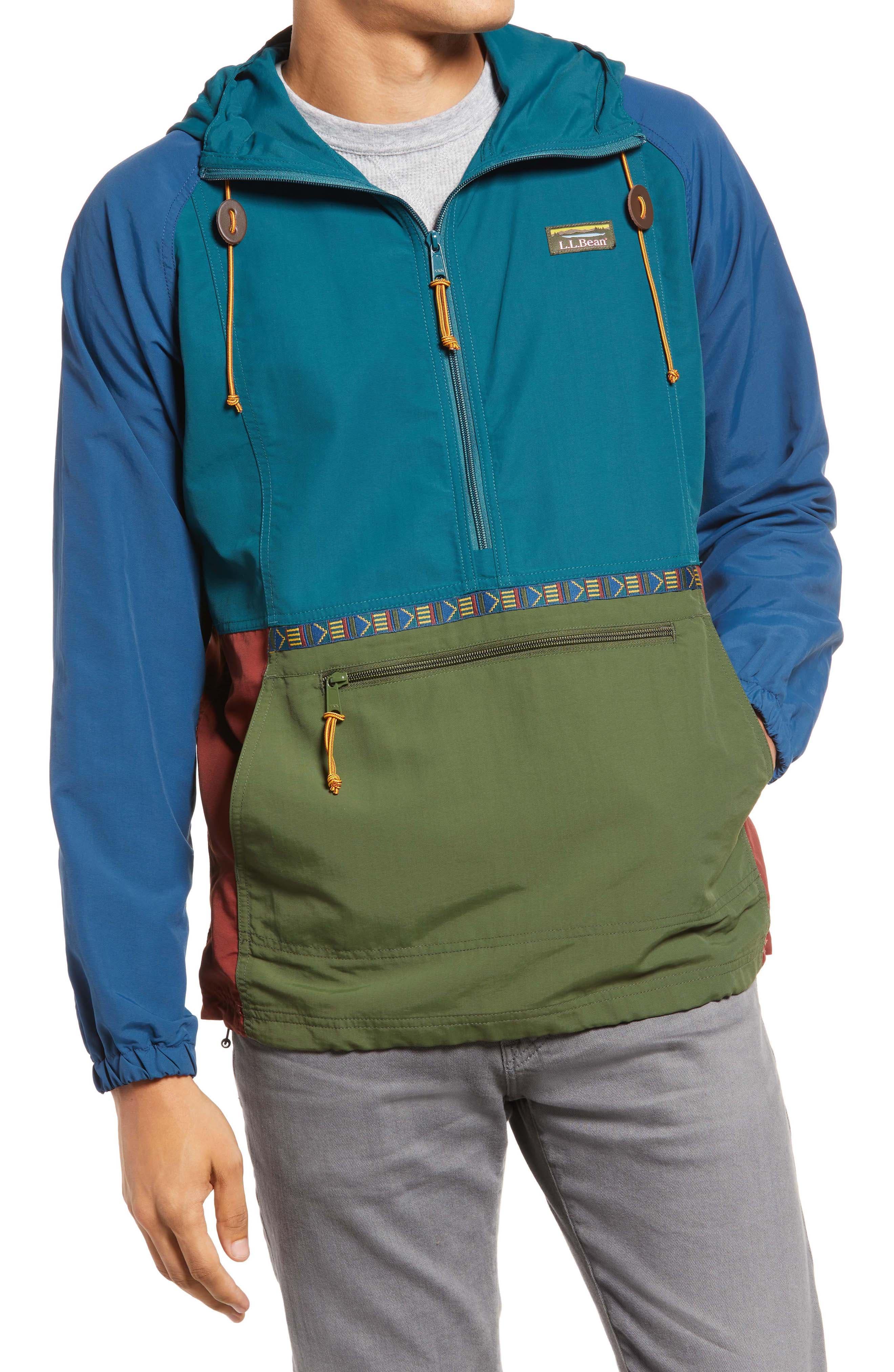 Men's Mountain Classic Water Resistant Half Zip Jacket