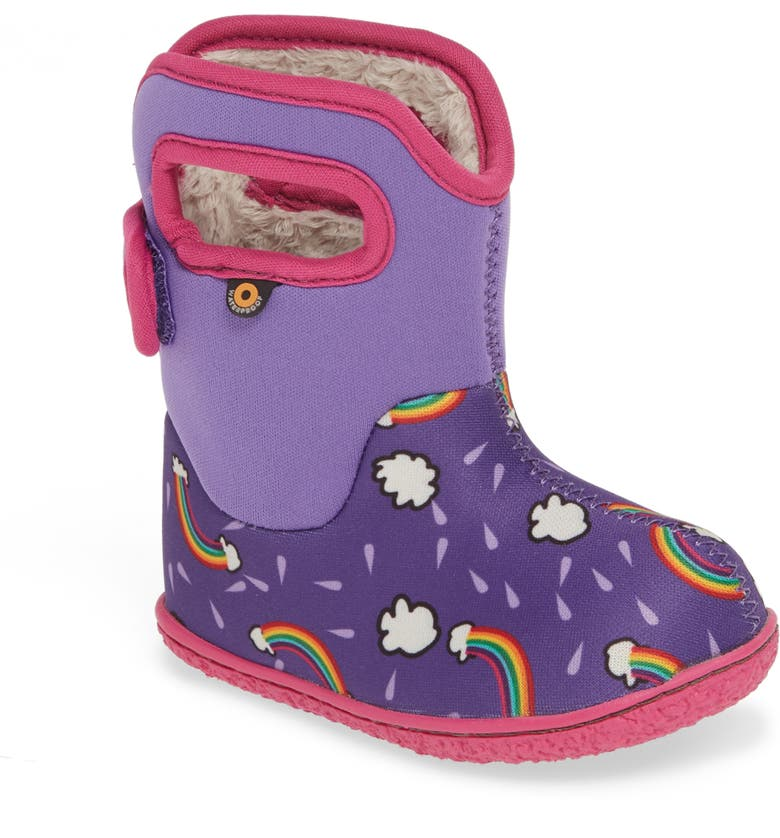 BOGS Baby Bogs Rainbow Insulated Waterproof Boot, Main, color, 546
