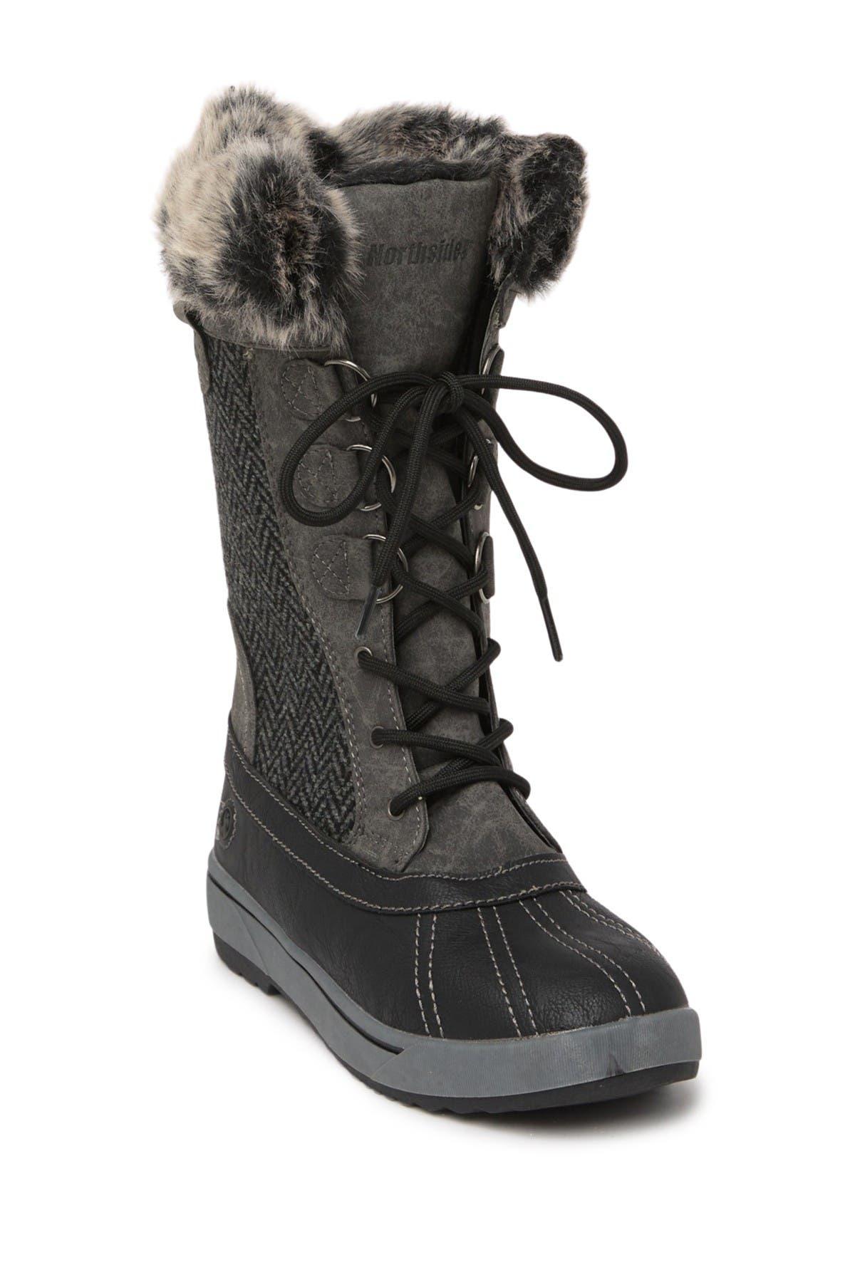 Image of NORTHSIDE Bishop Faux Fur Lined Duck Boot