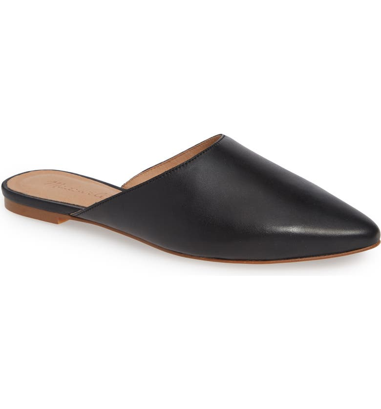 MADEWELL Remi Mule, Main, color, TRUE BLACK LEATHER