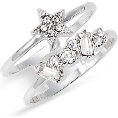 Olivia Burton Celestial Double Band Ring