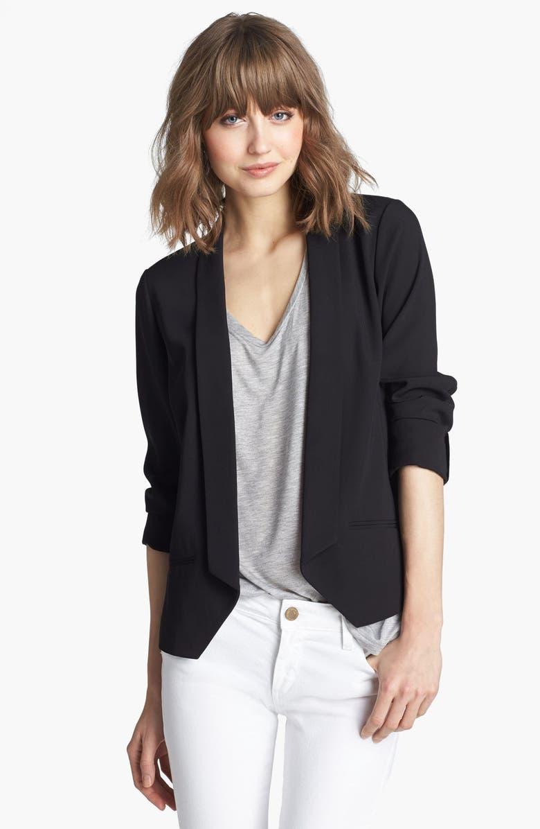 TROUVÉ Tuxedo Jacket, Main, color, 001