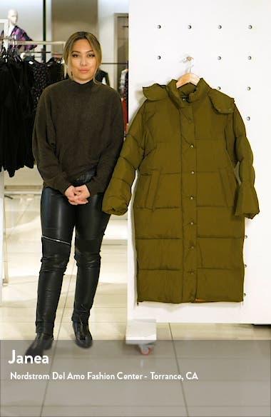 Longline Puffer Coat, sales video thumbnail