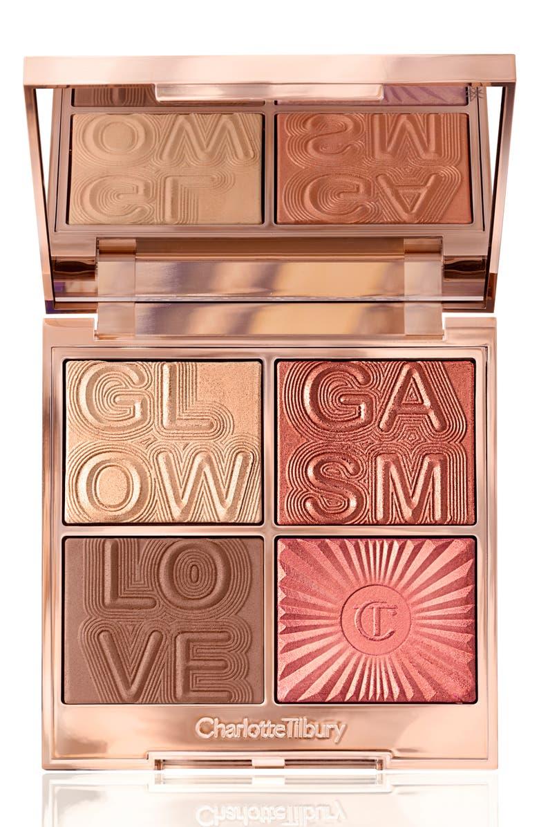 CHARLOTTE TILBURY Glowgasm Face Palette, Main, color, LOVEGASM