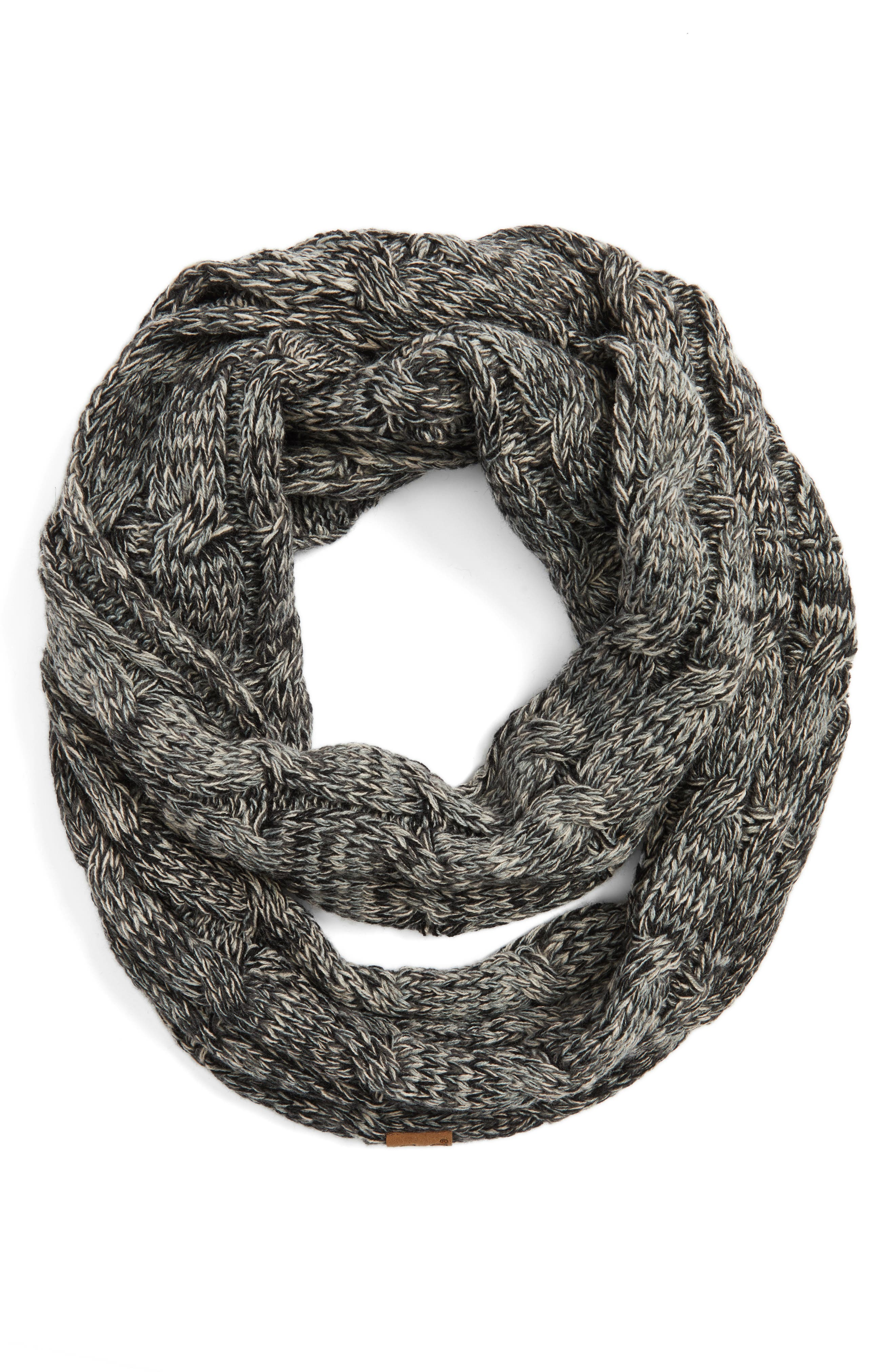 ,                             CC Knit Infinity Scarf,                             Alternate thumbnail 2, color,                             001